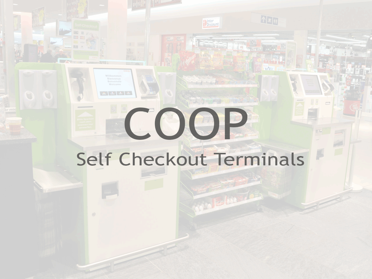 COOP Self Checkout Terminals - Inputech DESIGN