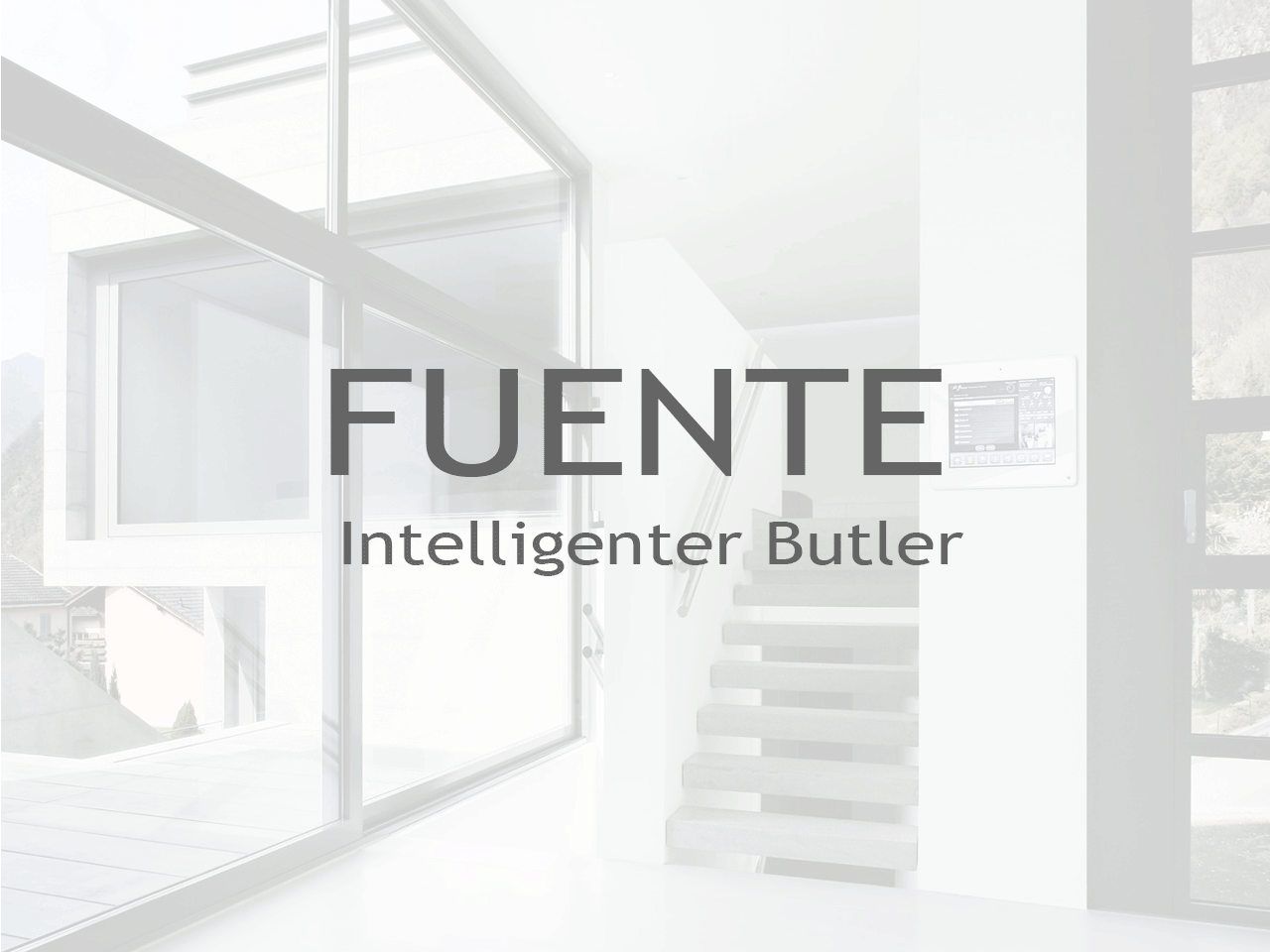 FUENTE Intelligenter Butler - Inputech DESIGN