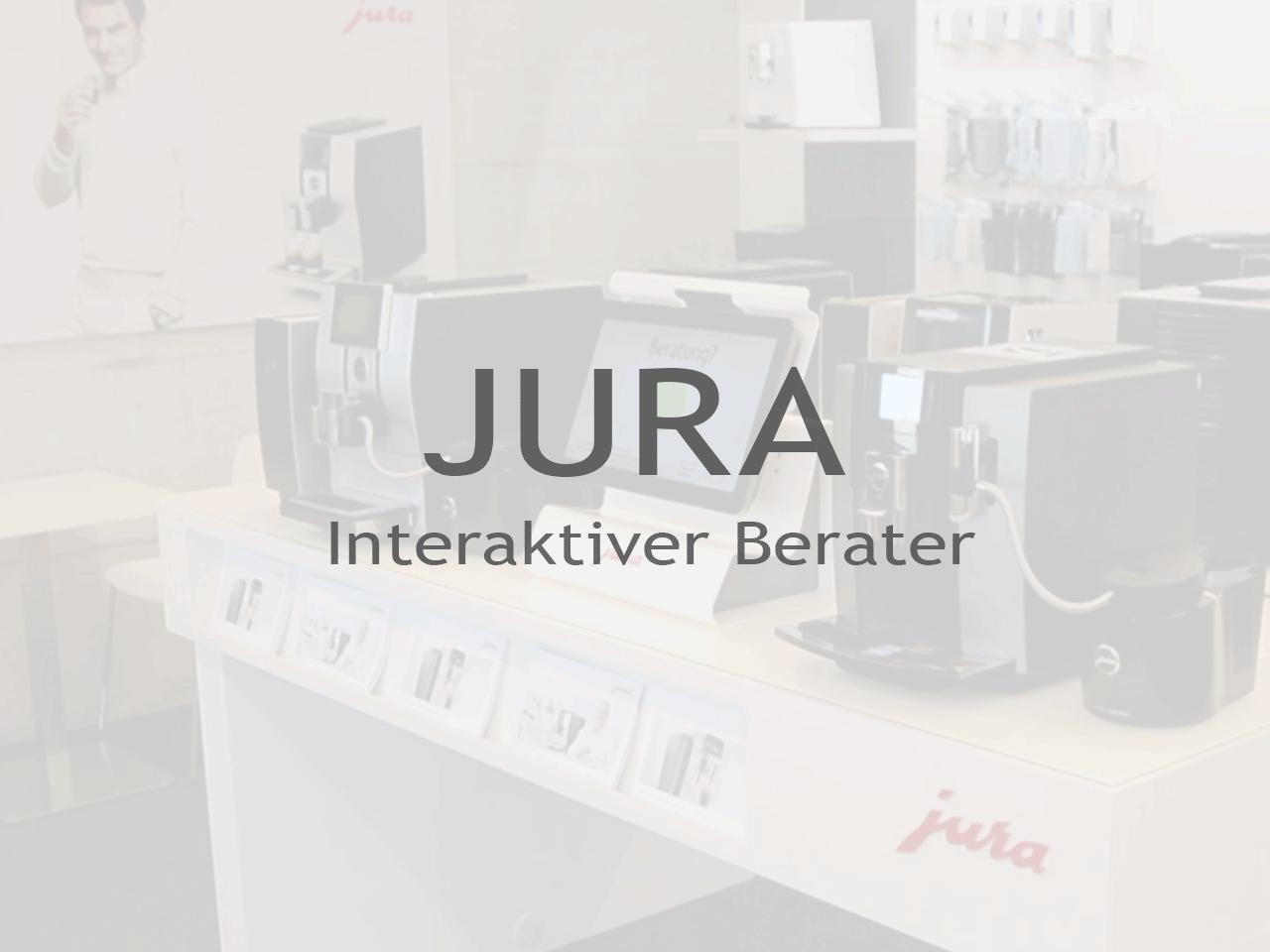 JURA Interaktiver Berater - Inputech DESIGN